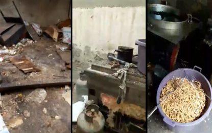 Sfax : Du kaki préparé dans des conditions d'hygiène déplorables