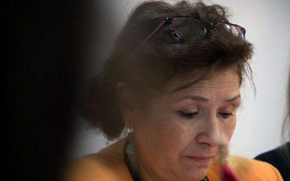 Sihem Bensedrine honorée à Bruxelles par le titre de docteur honoris causa