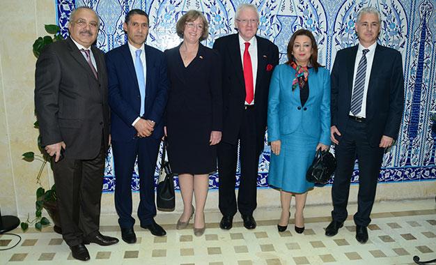 Visite en tunisie du lord maire de cit financi re de for Chambre de commerce de londres