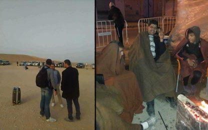 Tataouine : Des employés des sociétés pétrolières bloqués par les protestataires