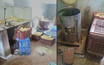 Tunis : Saisie de 7 tonnes de pommes de terre