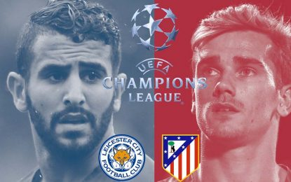Atletico Madrid-Leicester: match en direct