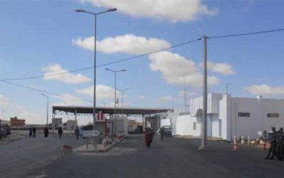 Tataouine : Le passage frontalier de Dehiba fermé par les manifestants