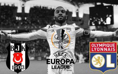 Ligue Europa: OL-Besiktas en direct