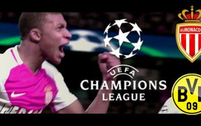 Monaco-Dortmund: champions league streaming