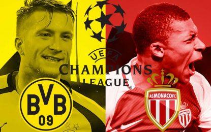 Monaco-Dortmund: match en live streaming