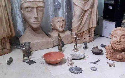 Saisie de 2200 pièces archéologiques volées depuis 2011