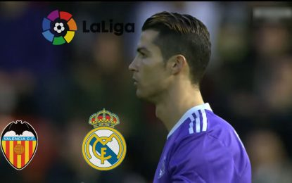 Real Madrid-Valence: en direct