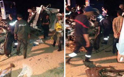 Zarzis : Quatre personnes décèdent dans un accident