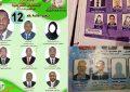 Affiches électorales et femmes sans visage
