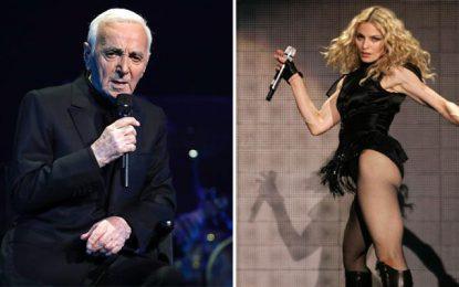 Aznavour et Madonna ne sont pas invités à Carthage