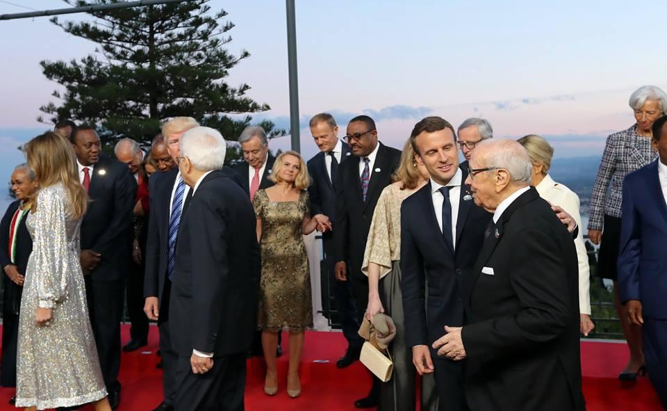 Caïd Essebsi - Macron