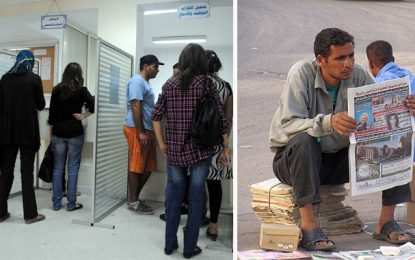 Tunisie : Le taux de chômage augmente à 15,1% au terme du 1er trimestre 2020