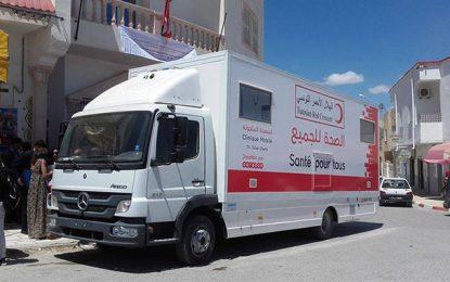 Ooredoo inaugure la clinique mobile «Tahar Cheniti» à Zaghouan