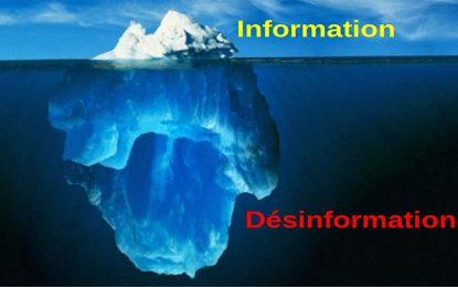 Discours politique, information et désinformation