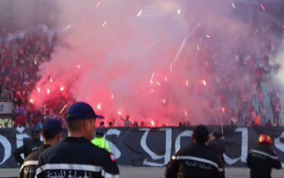 Flammes dans les stades : Quatre clubs sanctionnés