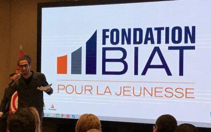La Fondation Biat pour la jeunesse parrain du nouveau mapping dynamique sur les Coworking Spaces