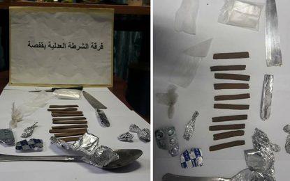 Un trafiquant d'héroïne arrêté à Gafsa