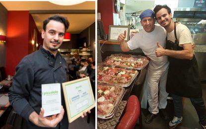 Le Tuniso-italien Hichem Houli patron de la meilleure pizzeria à Bruxelles