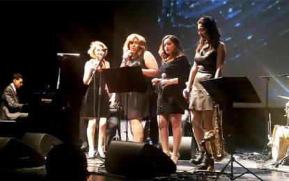 Les demoiselles du Jazz Club de Tunis chantent le blues