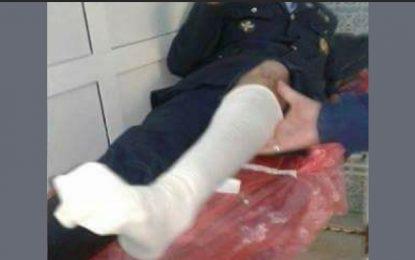 Un policier fauché par un délinquant à Kairouan