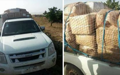 Kef : Saisie de marchandise de contrebande d'une valeur de 200.000 dinars