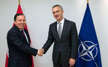 Tunisie-Otan: Jhinaoui et Stoltenberg parlent partenariat militaire