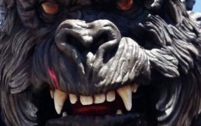 Le plus énorme King Kong s'installe à Hammamet