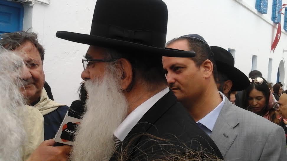 Le rabbin Cohen,  israelien, originaire de Medenine.