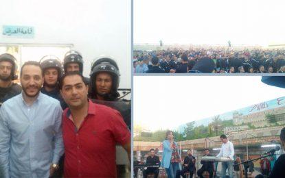 Hussein Al Deek à la prison de la Mornaguia