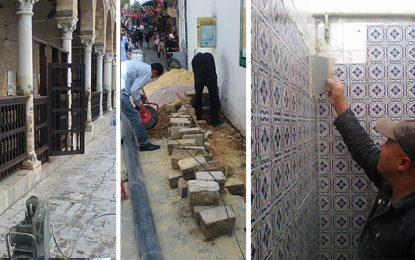 Ramadan : Travaux à la mosquée Zitouna de Tunis
