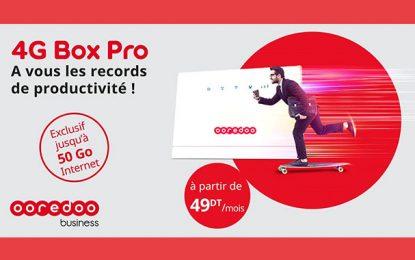 Ooredoo lance la 4G Box Pro pour travailler en toute autonomie