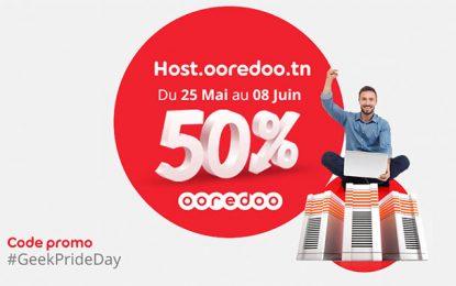 Journée mondiale des Geeks : Ooredoo Host offre 50% de réduction