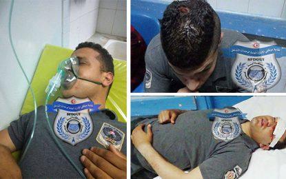 Radès : Des policiers blessés lors de la finale de la coupe de basket