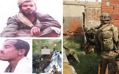 Le chef terroriste Abou Sofiane Essoufi abattu à Sidi Bouzid