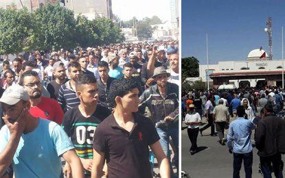 Tataouine : Les manifestants tentent d'envahir le siège du gouvernorat