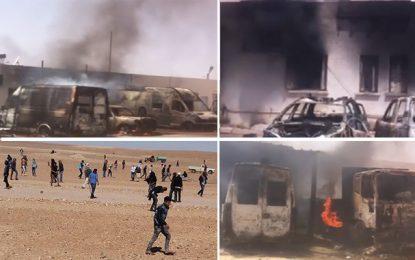 Vigilance à Tataouine : Des infiltrés parmi les manifestants