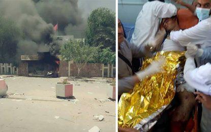Tataouine : Décès d'un manifestant et incendie du district de sécurité