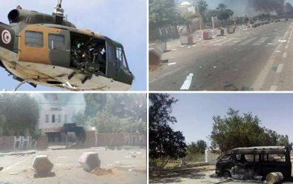 Tataouine : 20 policiers blessés, dont 1 en soins intensifs
