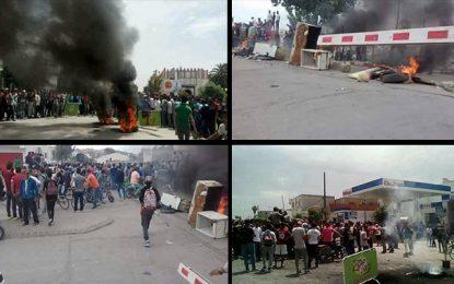 Tebourba : Un homme met le feu à son corps
