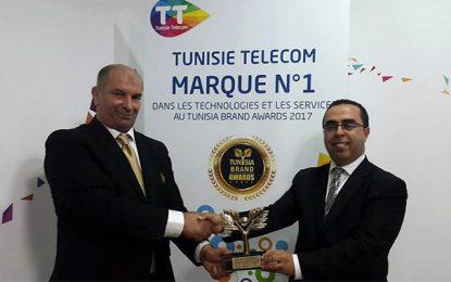 Tunisie Telecom fête son 1er Tunisia Brand Award
