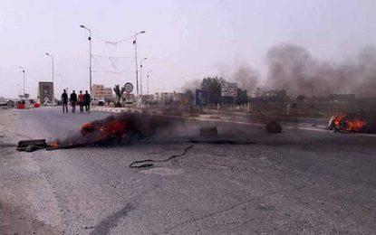 Kairouan : Des habitants bloquent les routes