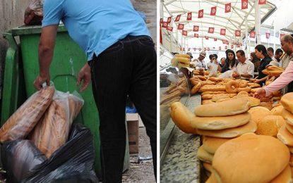 Gaspillage : Les Tunisiens jettent 900.000 pains par jour