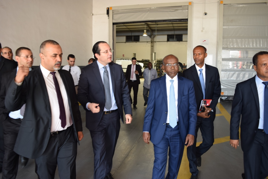 La délégation djiboutienne visite les ateliers d'UADH.