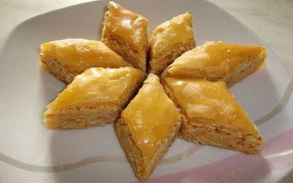 Aid Al-Fitr : Des pâtes feuilletées turques pour le baklawa !