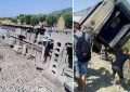 Blessés légers dans le déraillement du train Tunis-Ghardimaou