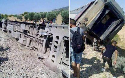 Déraillement du train Tunis-Ghardimaou : Les blessés quittent l'hôpital