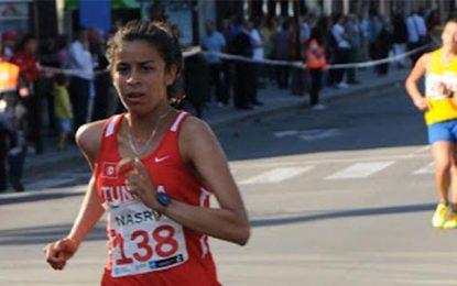 Chahinez Nasri bat le record africain du 5000 m marche