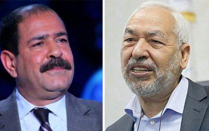 Meurtre de Belaid: Ghannouchi porte plainte contre Sky News Arabia