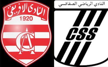 Ligue 1-12e journée : Club africain-Club sfaxien en nocturne à Radès
